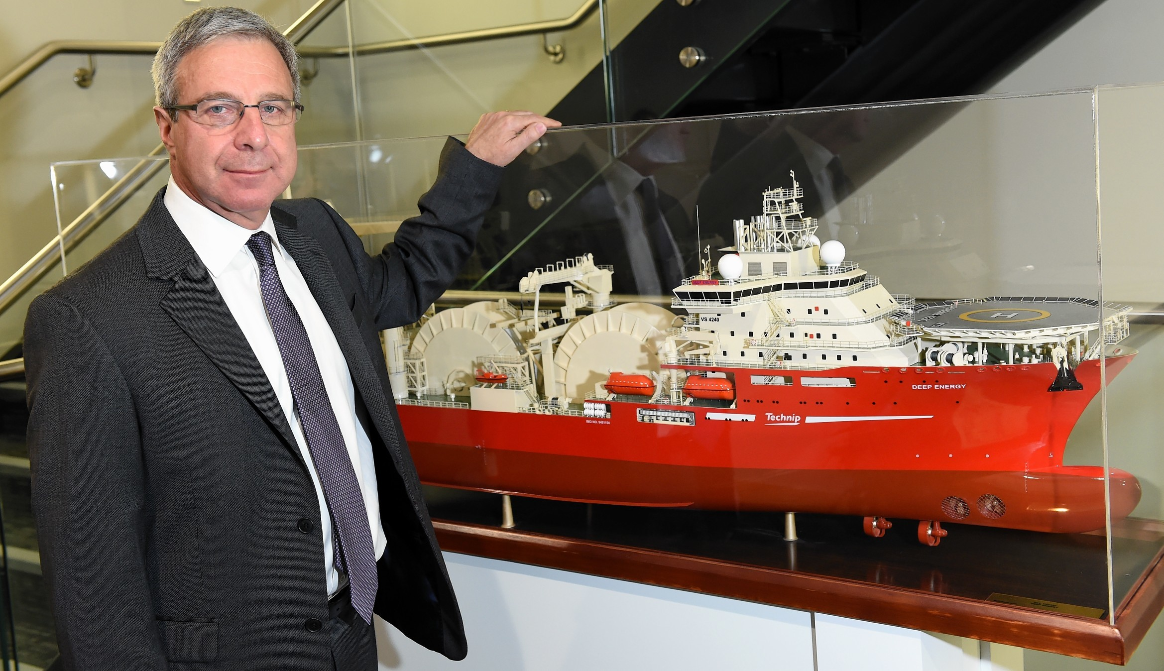 Richard Wylie, project director of Quad 204 for Technip.