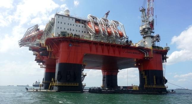 The Safe Boreas accommodation vessel