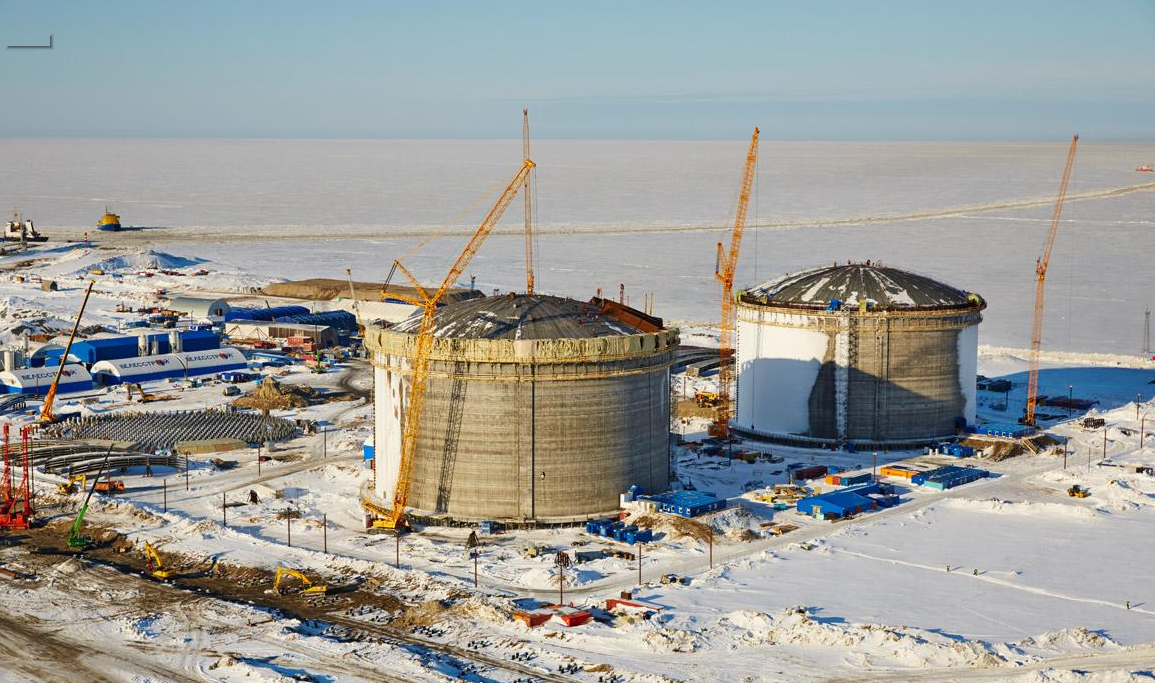 Novatek's Yamal liquefied natural gas project