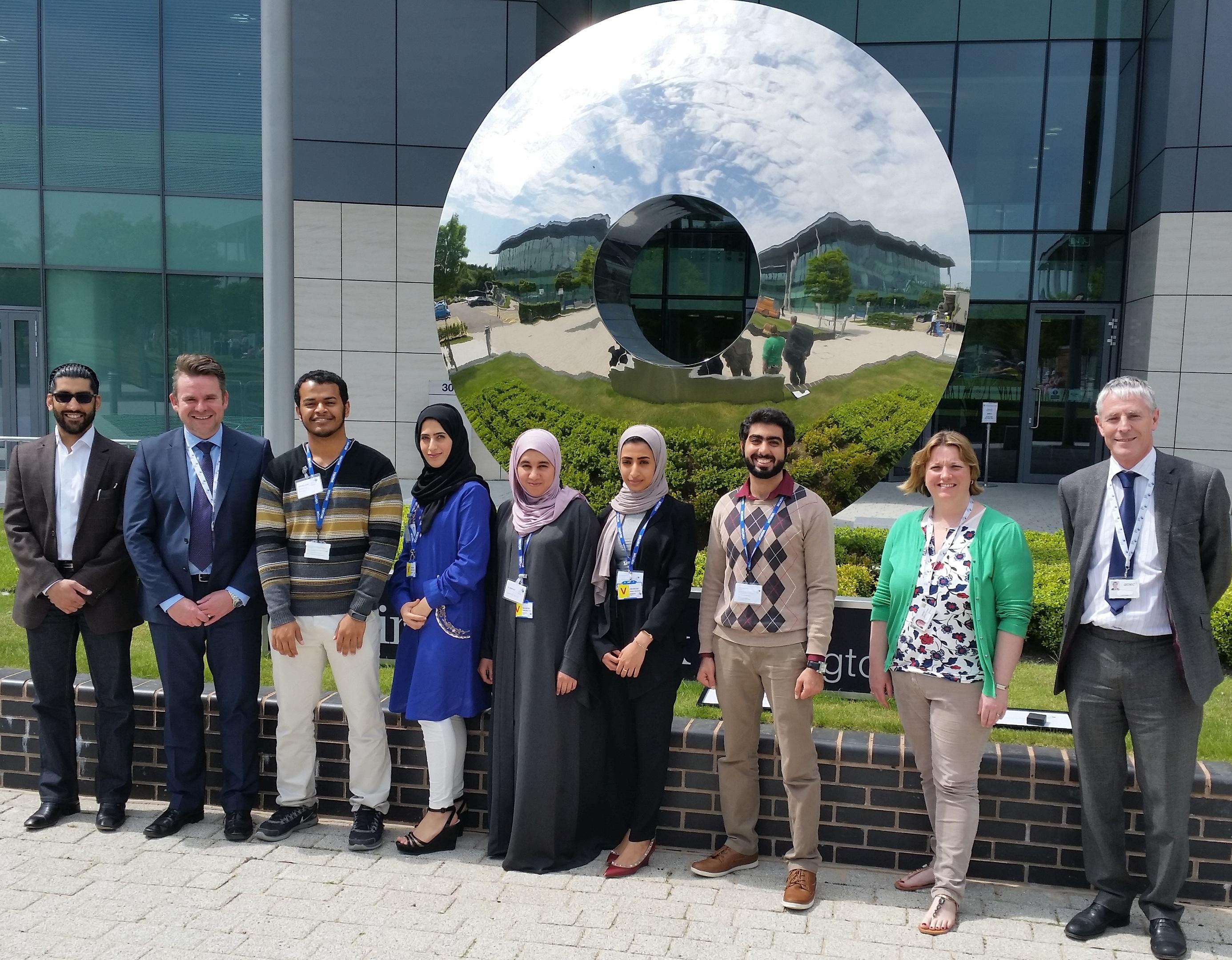 Amec Foster Wheeler welcomes Khalifa University students