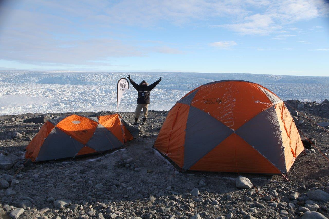 Rod Downie in the Arctic