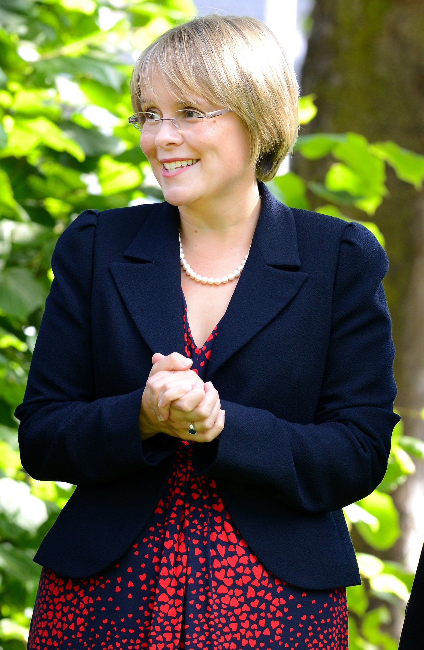Anna Tomlinson, Headmistress of St Margaret's School for Girls