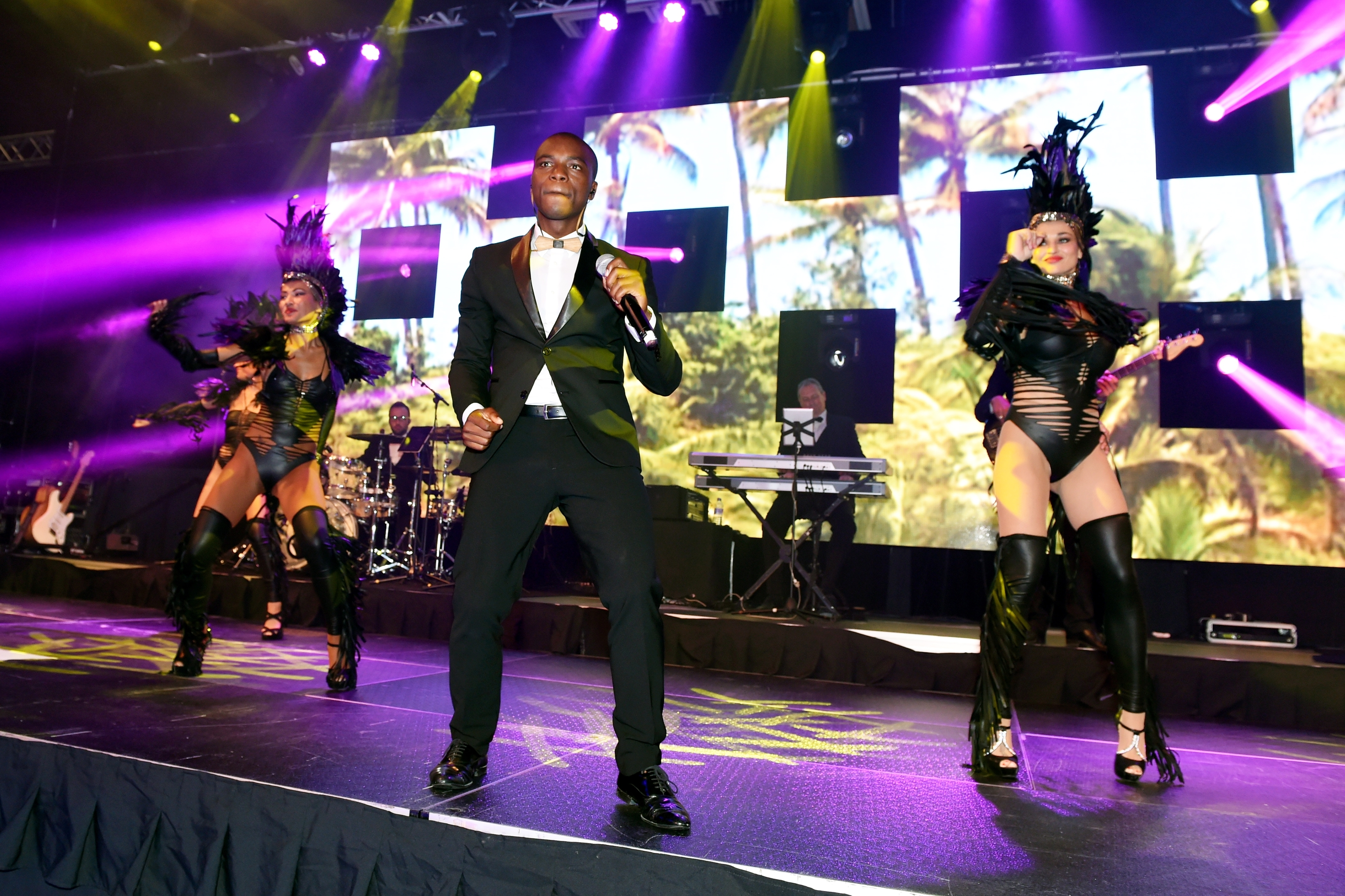 The Swan band performing at the Energy Ball 2015 Picture by KEVIN EMSLIE