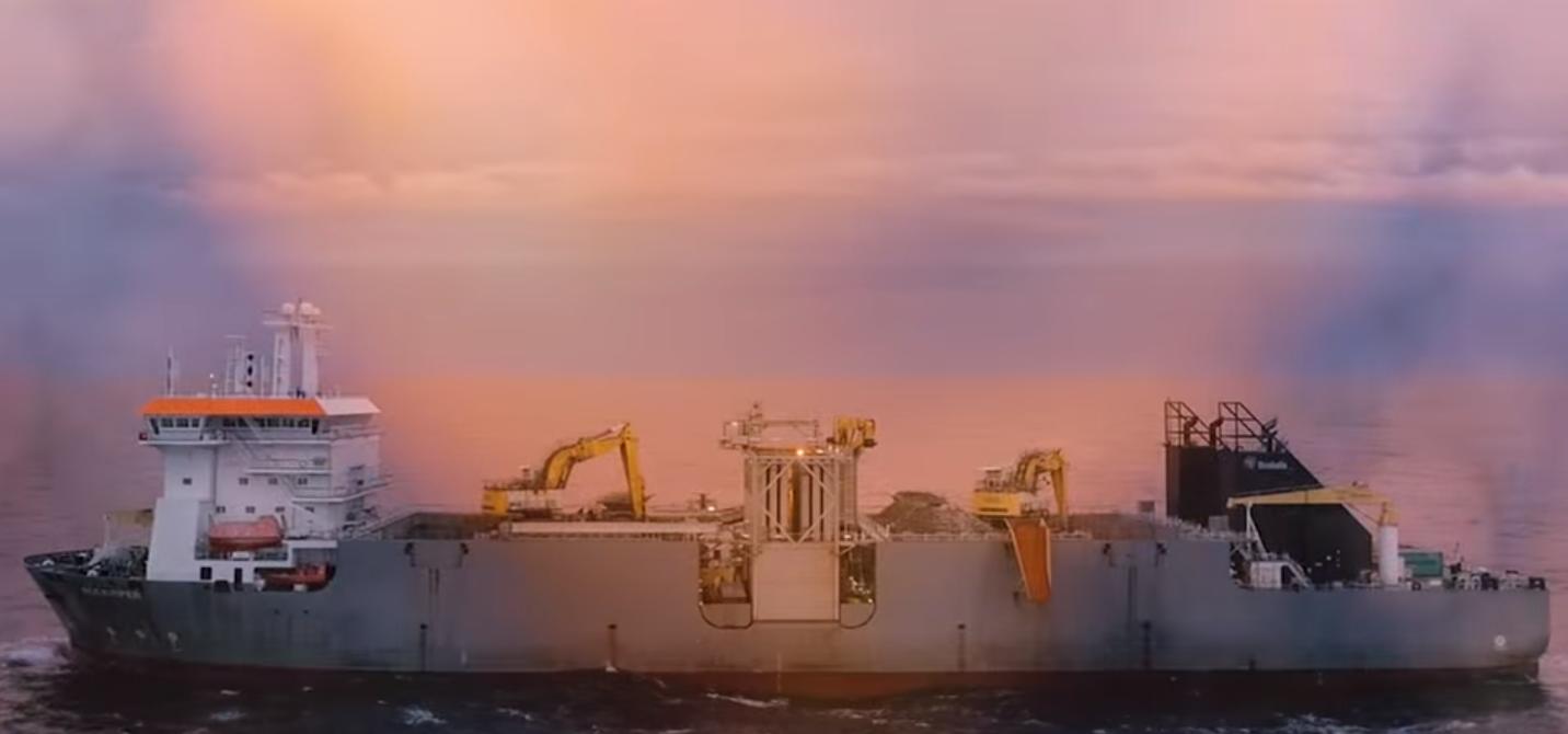 The Rockpiper vessel