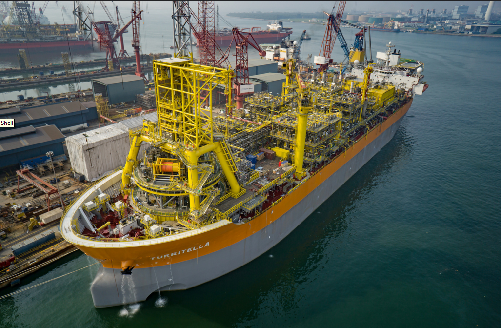Shell's FPSO for its Stones Project