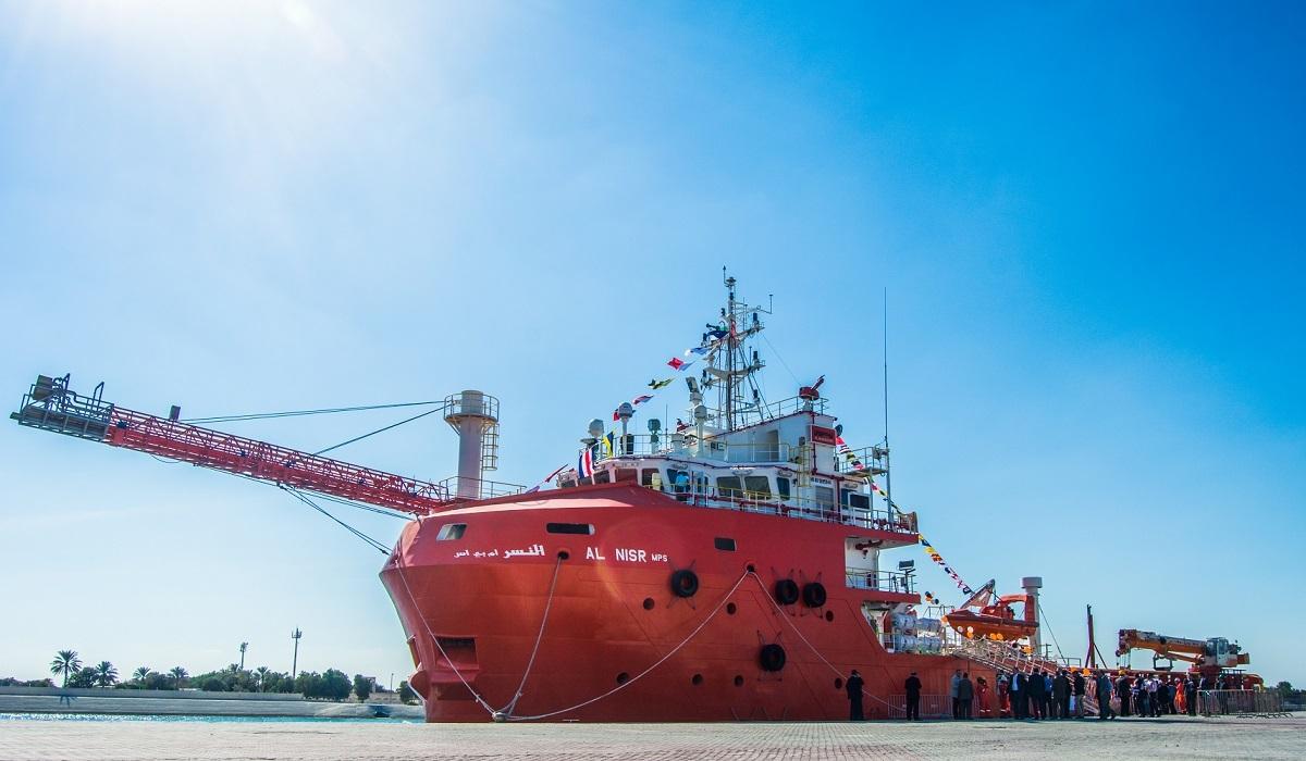 AlMansoori's Al Nisir production testing vessel