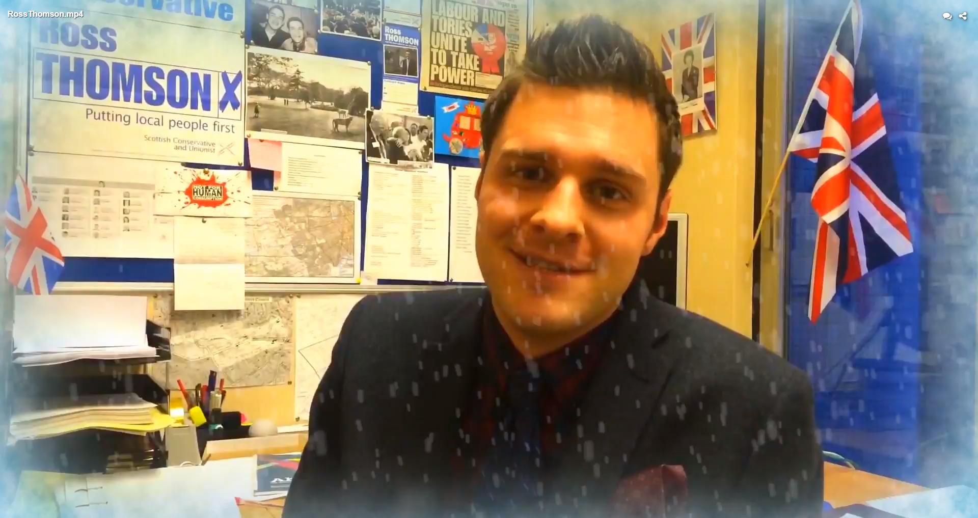 Aberdeen City Councillor Ross Thomson