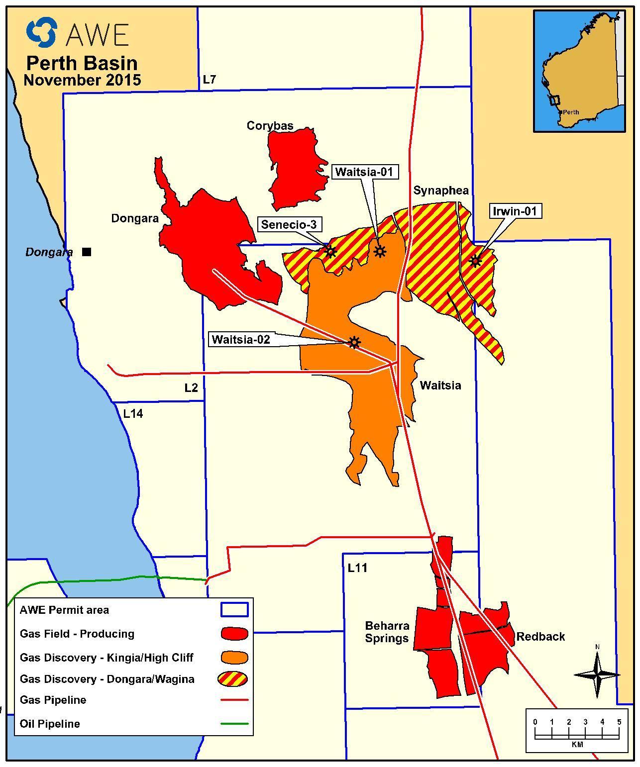 AWE's Waitsia gas project