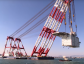 The  Aasta Hansteen living quarter being moved into place