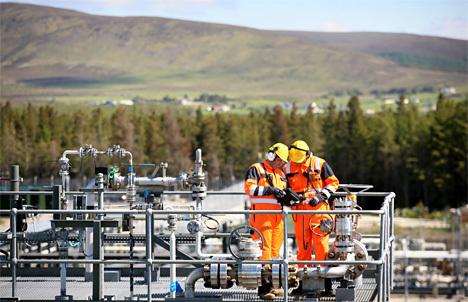 Shell's Corrib gas plant