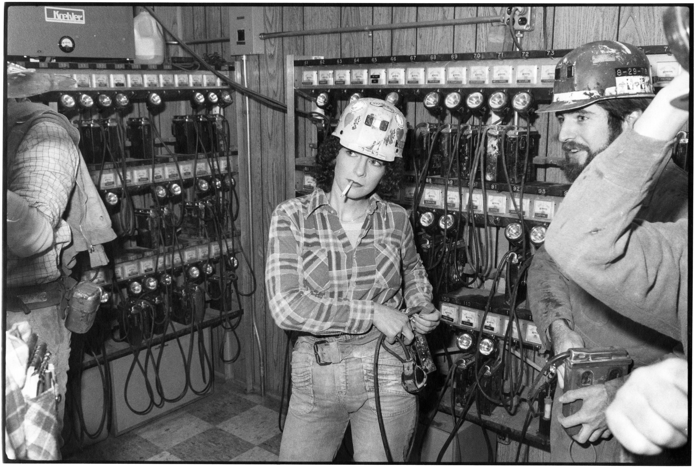 Image of female coal miner. Credit: Ted Wathen