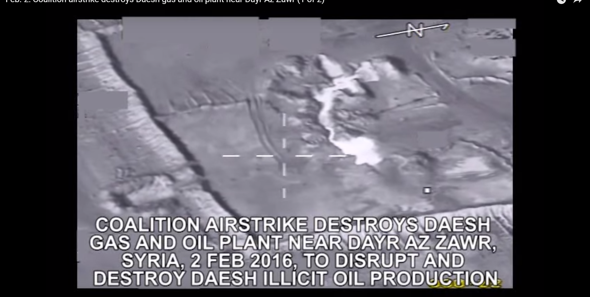 More air strikes have been targeting oil and gas plants