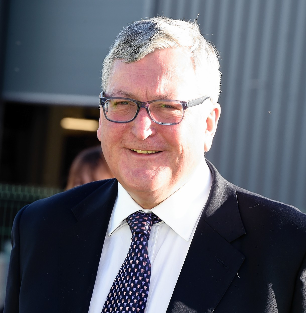 Energy Minister Fergus Ewing in Aberdeen on Monday, February 8, 2016,