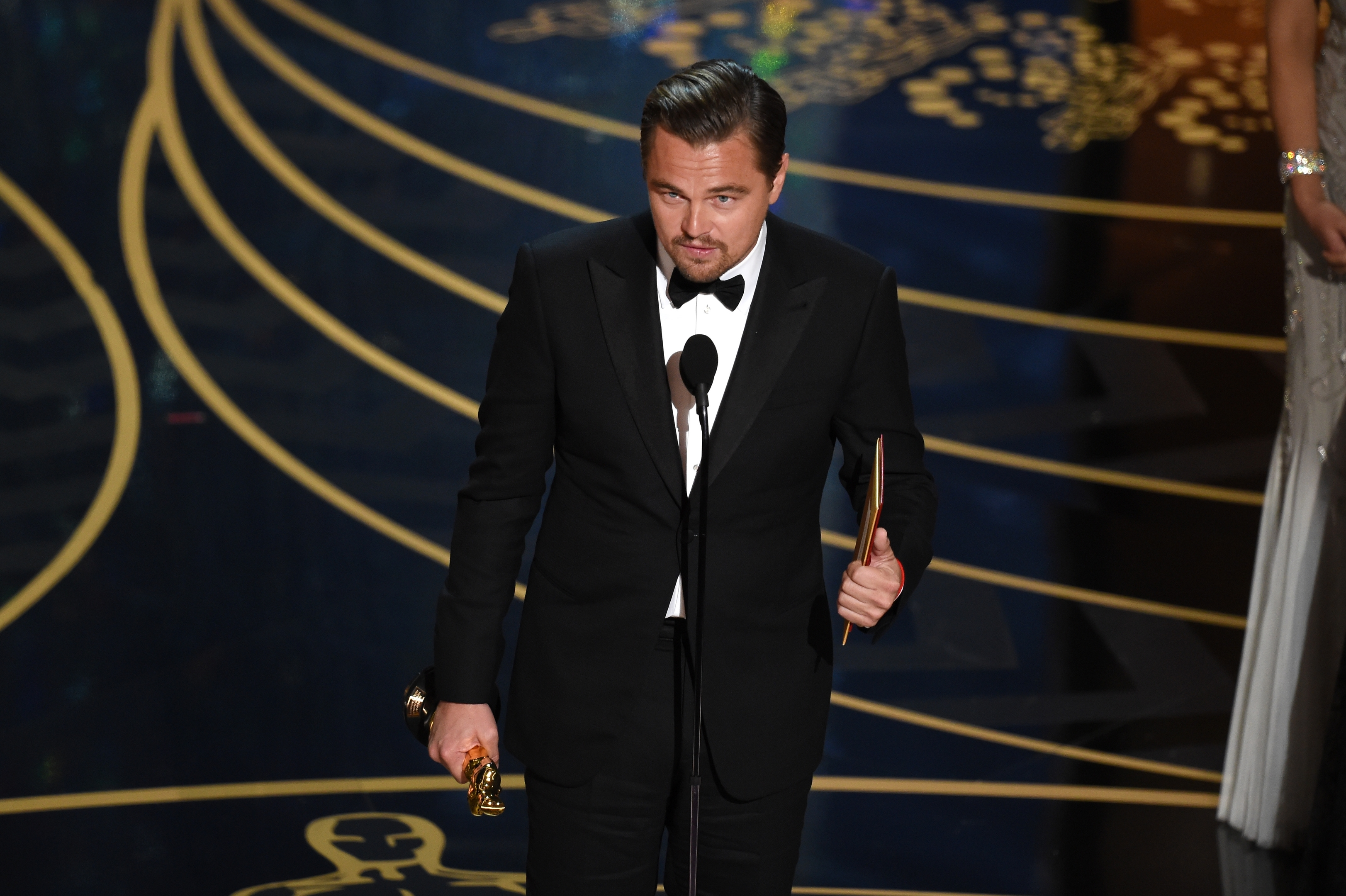 Leonardo DiCaprio meets Donald Trump