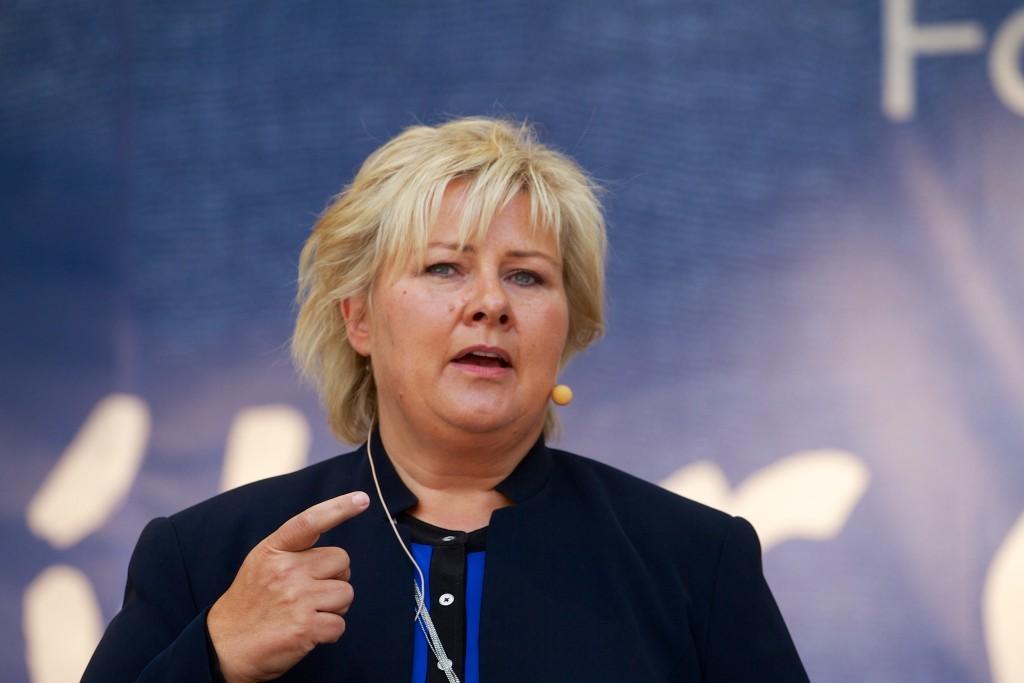 Erna Solberg, Norwegian prime minister