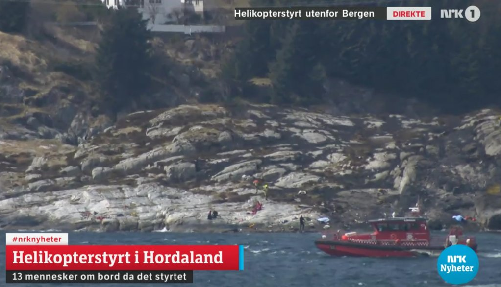 Norway helicopter crash: What we know so far
