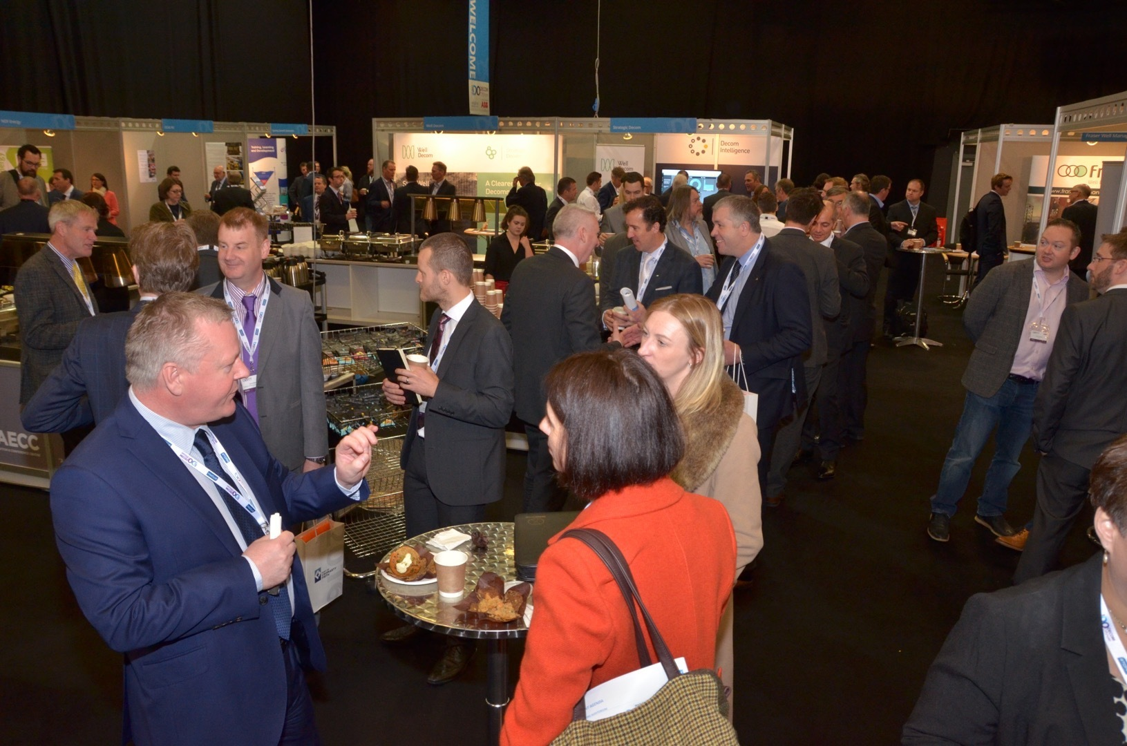 Decom Offshore 2016, sold out.