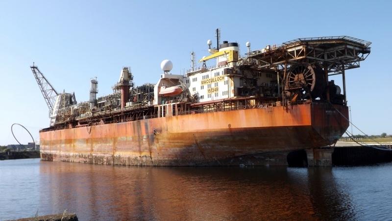 Huge vessel stays docked by Middlesbrough FC Stadium after