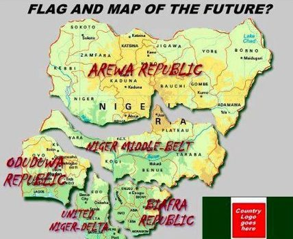 A proposed map from the Niger Delta Avengers