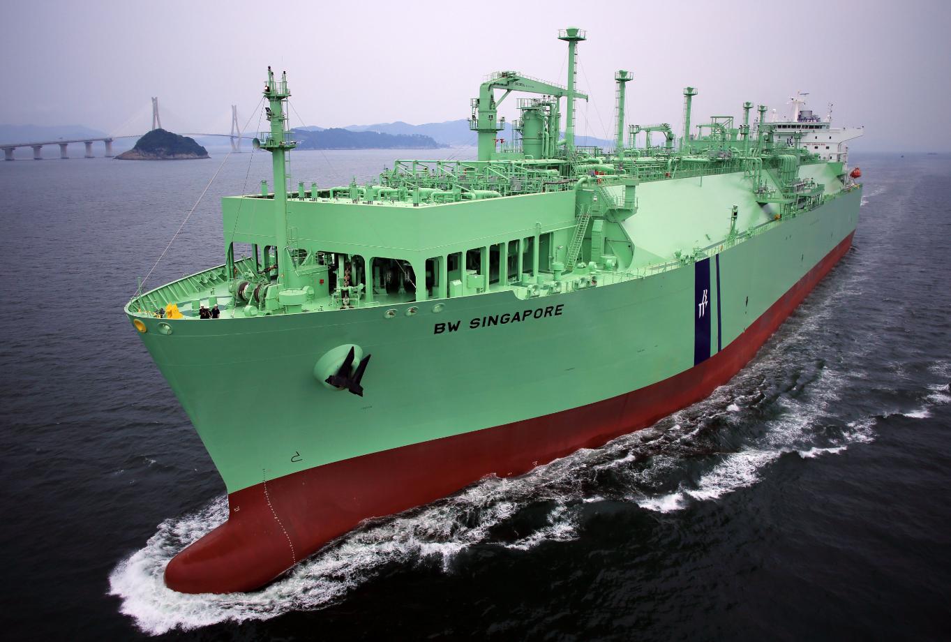 BW's Singapore LNG tanker