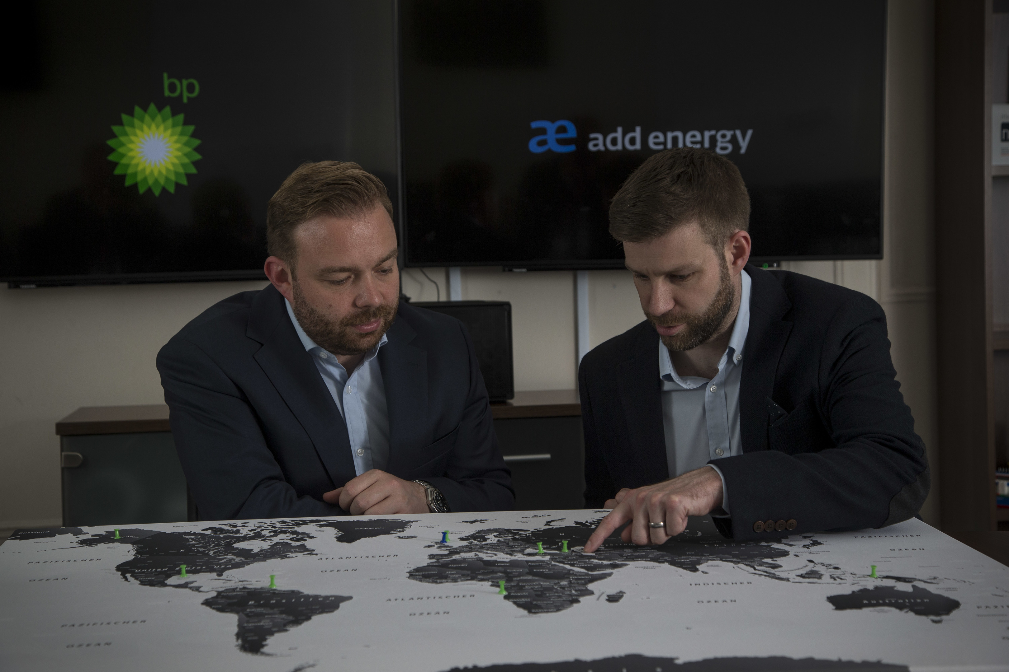 Add Energy Executive Vice President, Peter Adam (left) and Engineering Manager, Stuart Murray.