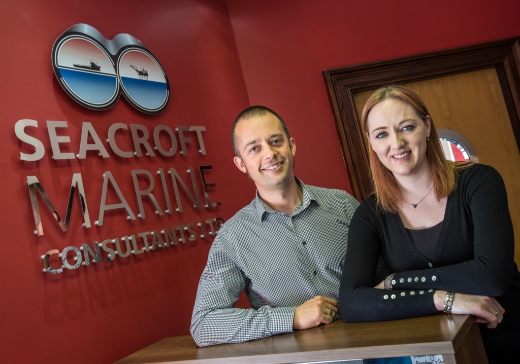 Seacroft directors Michael Cowlam and Jennifer Fraser