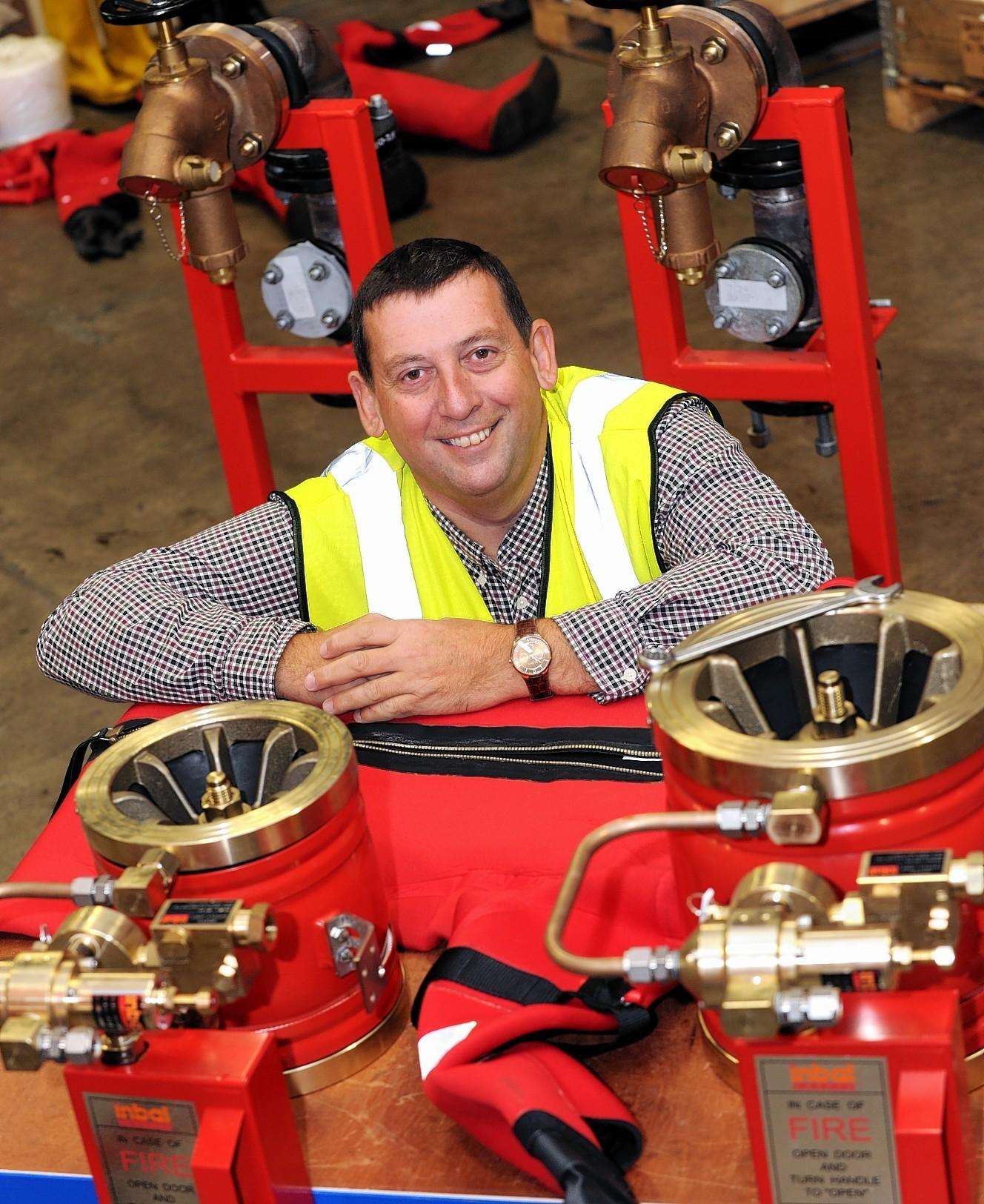 Blaze Manufacturing managing director Howard Johnson