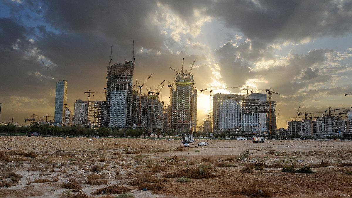 A Saudi city scape