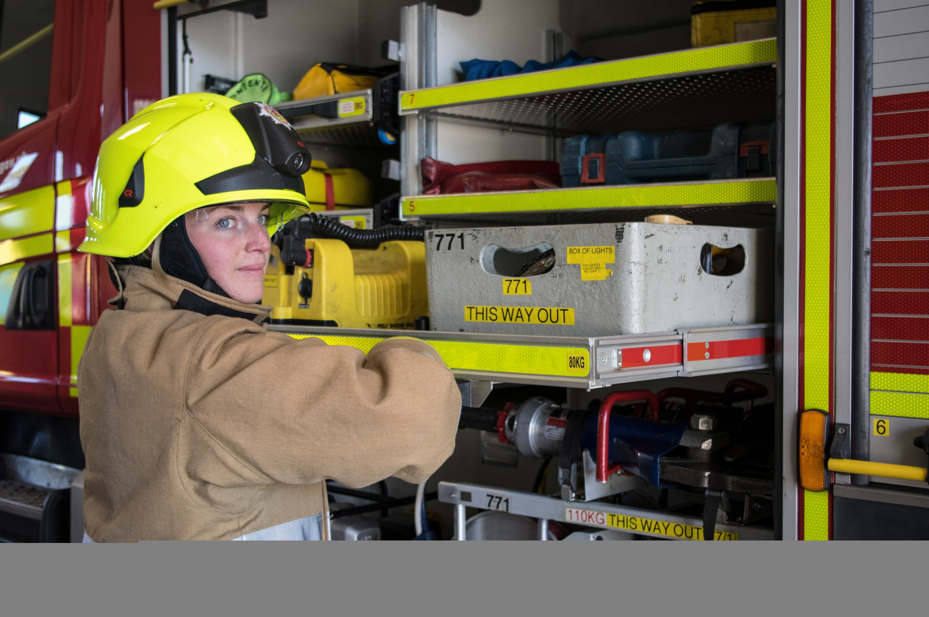 Natalie Parslow left career in oil and gas to become a firefighter