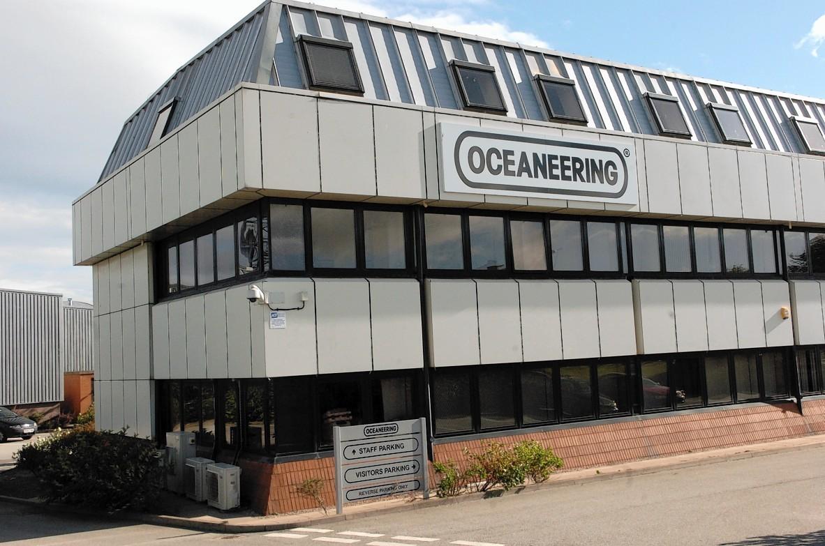 Oceaneering's regional HQ in Dyce, Aberdeen