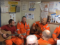Last year the crew of the Brent Delta took on Oasis