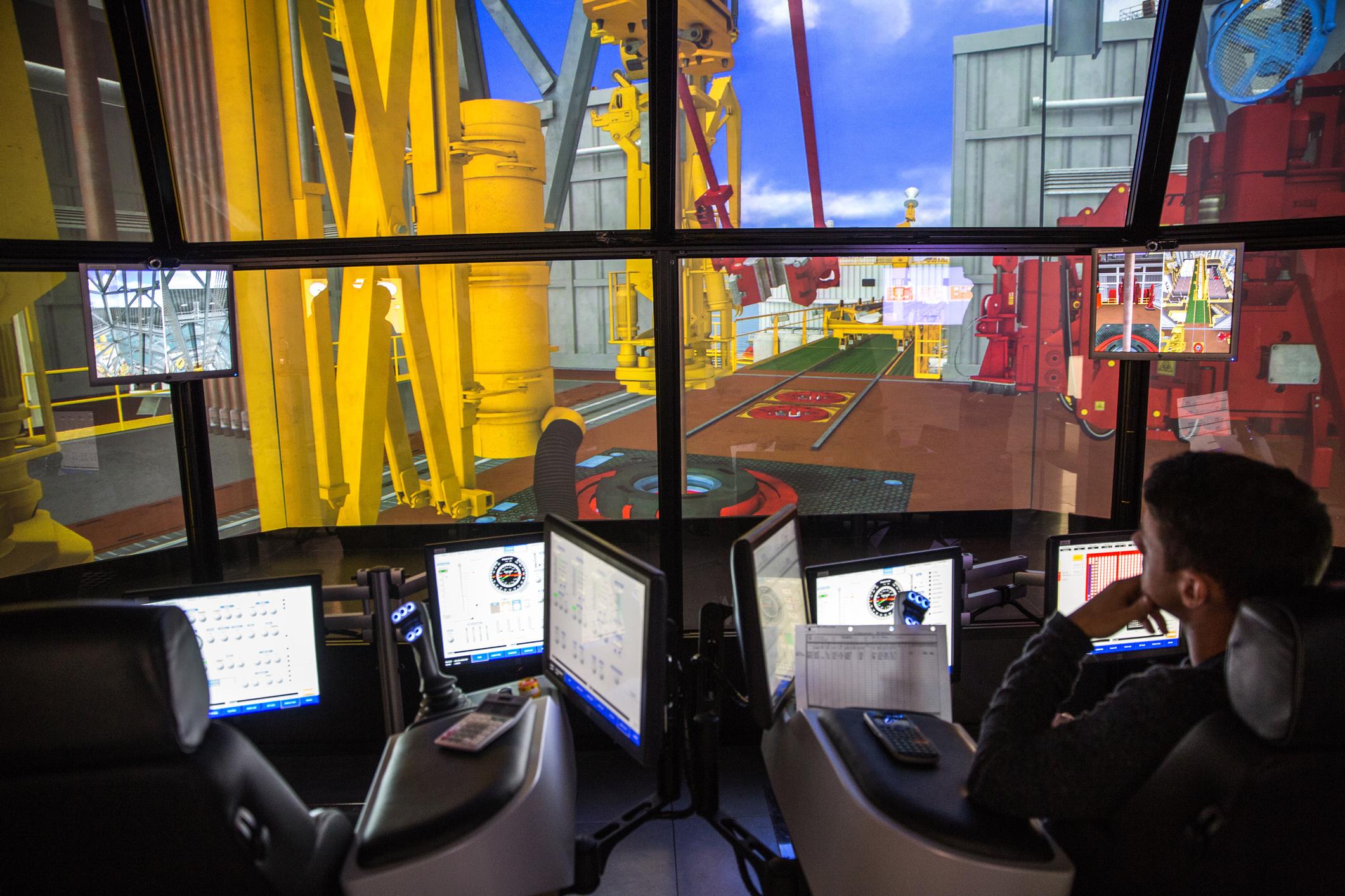 RGU's DART simulator in action