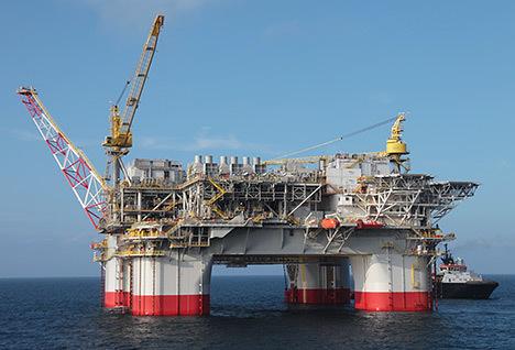 Chevron's Jack/St Malo platform