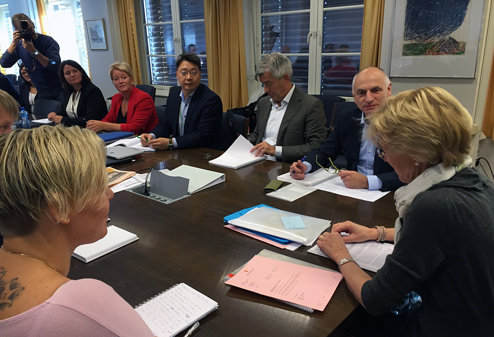 Talks are ongoing in Norway