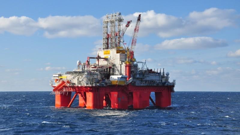 A Transocean rig