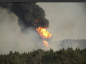 Alabama gasoline line fire