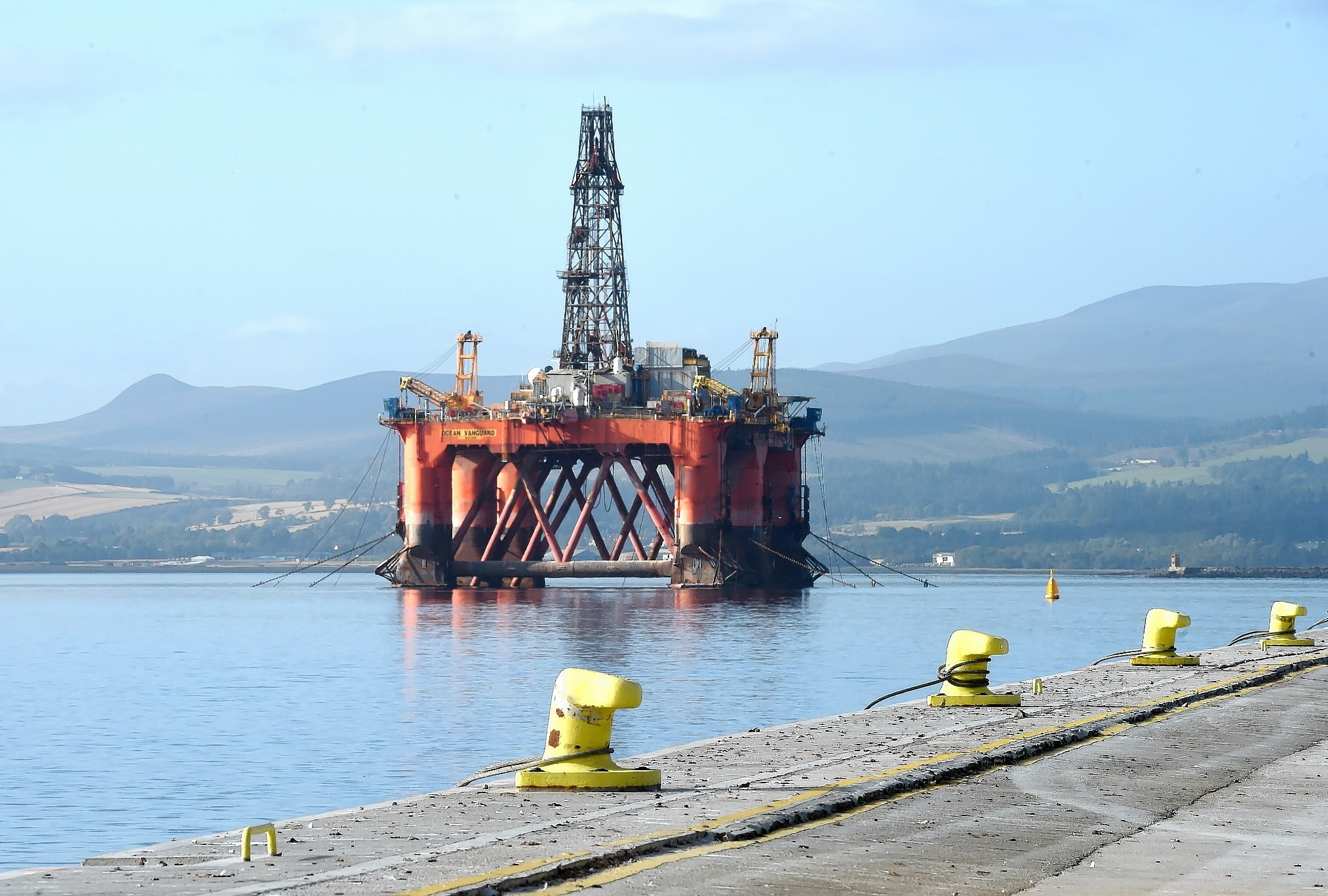 Cromarty Firth Port Authority, Invergordon.