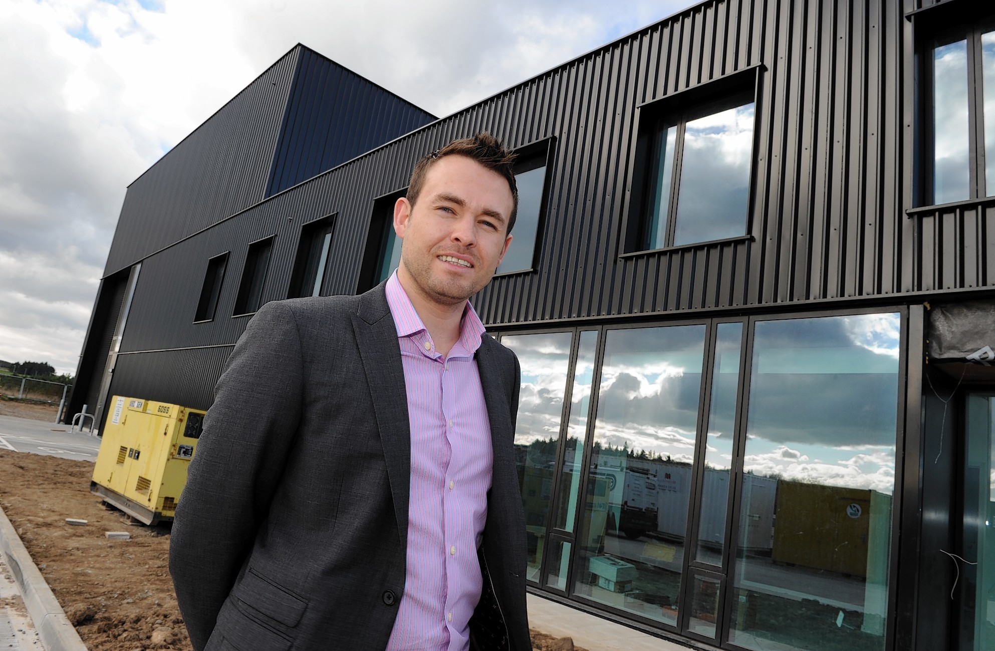 Murray Kerr, founder and managing director of SengS, which was sold to Dundee-based Pryme Group.