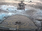 The MH-60R Seahawk was attempting to land