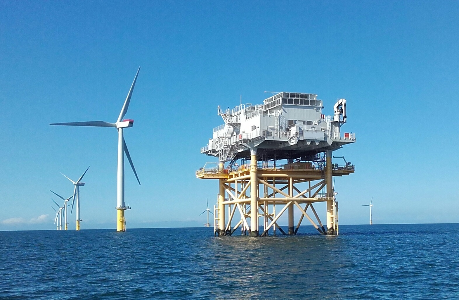 Shell are planning to move into UK offshore wind.