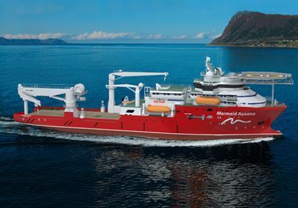 A vessel from Mermaid's fleet