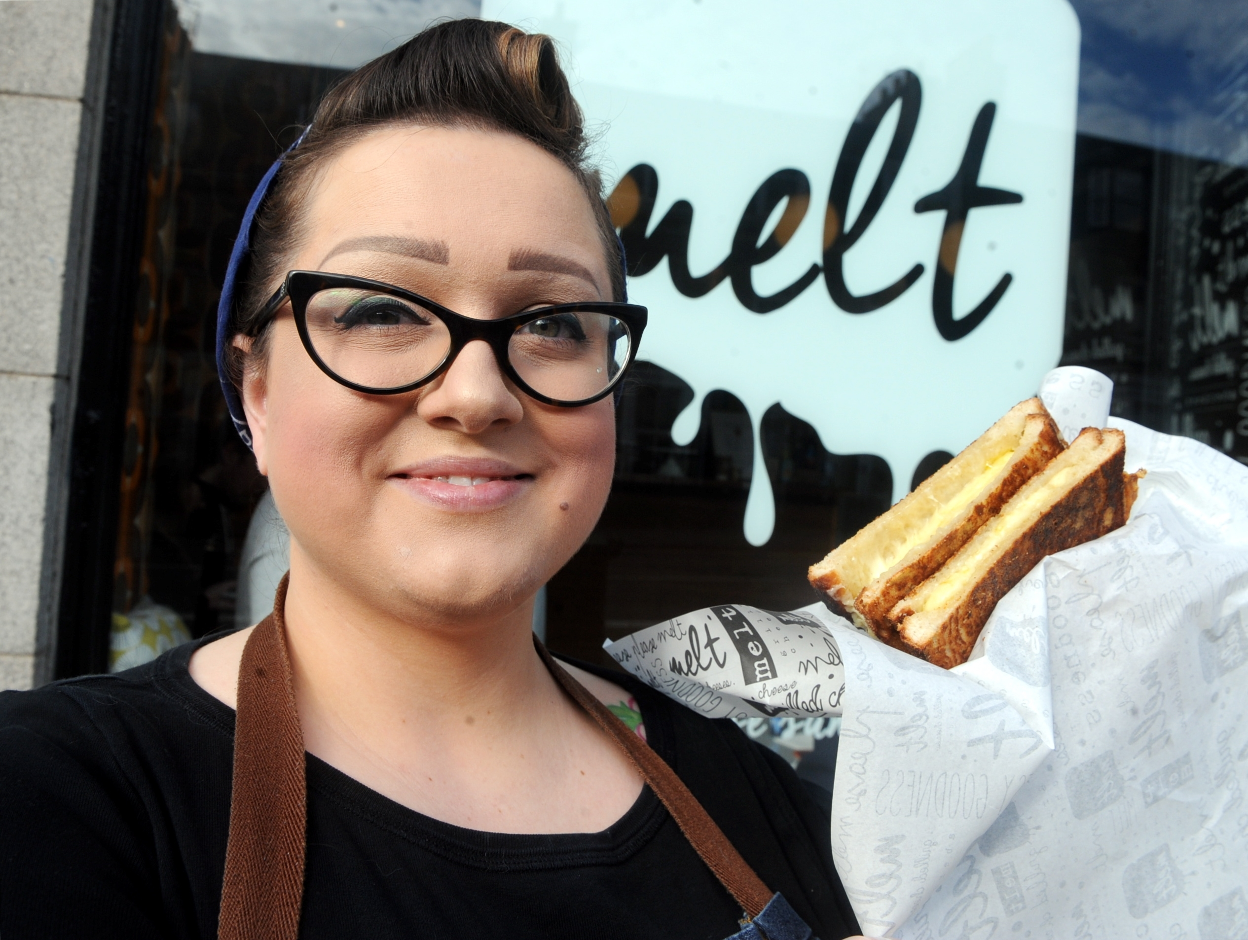 Mechelle Clark the owner of Melt on Holburn Street, Aberdeen