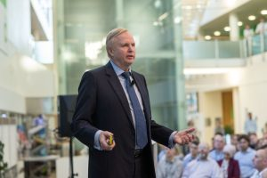 BP chief executive Bob Dudley said it was not the company's job to set targets influencing how its products are used.