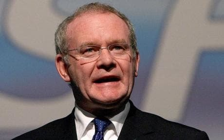 Deputy First Minister Martin McGuiness stepped down from his role over an energy scheme scandal