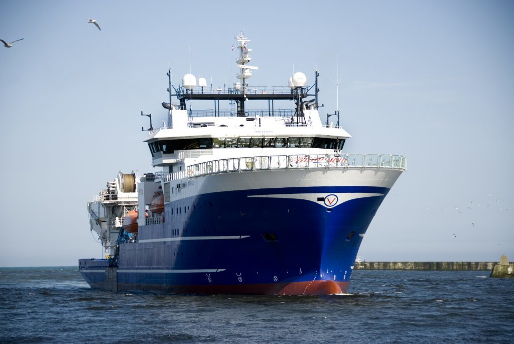 Bibby Offshore Wins Multimillion Pound North Sea Contract