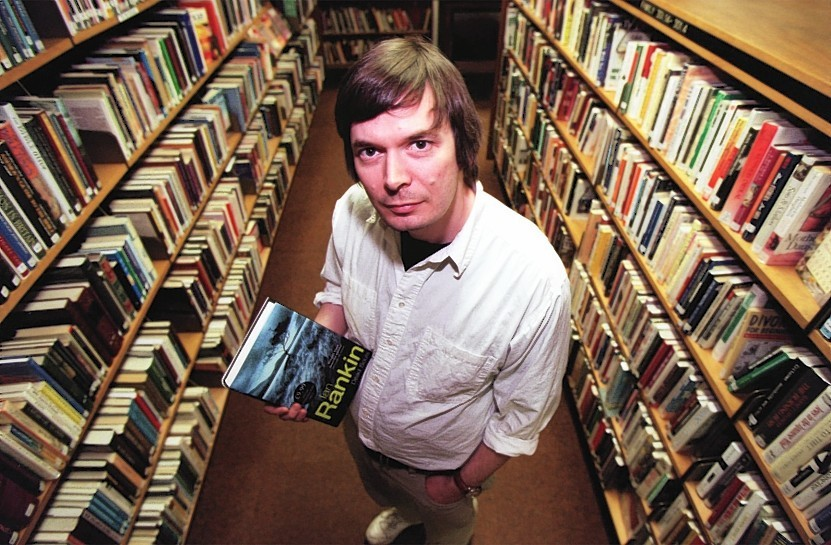 A file photo of Ian Rankin