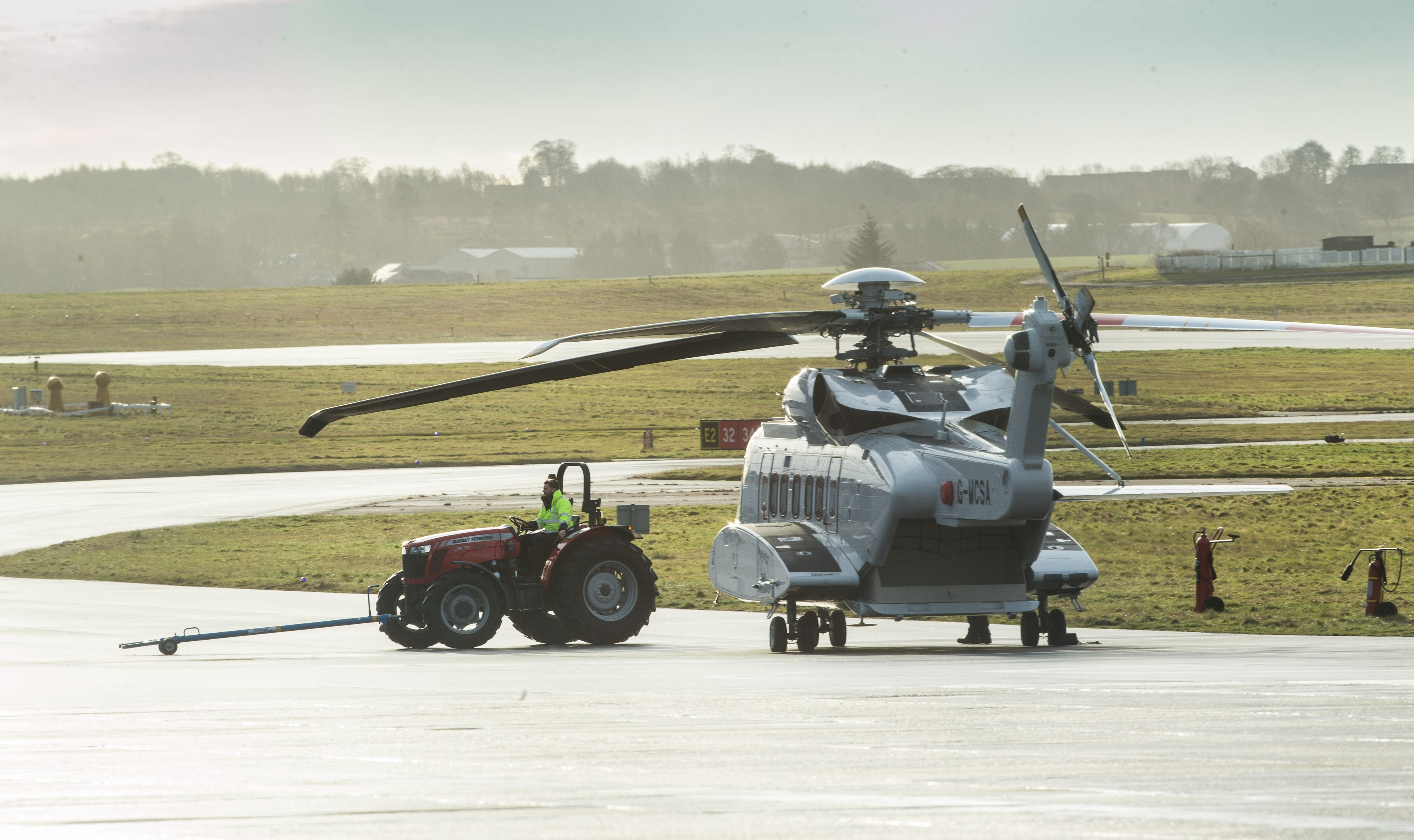 S-92 helicopters have to undergo mandatory checks before they are able to fly