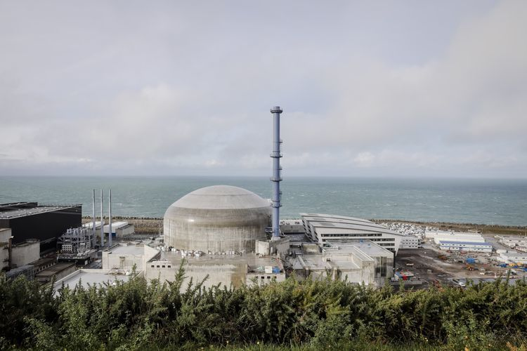 Electricity de France SA's Flamanville Nuclear Power Station