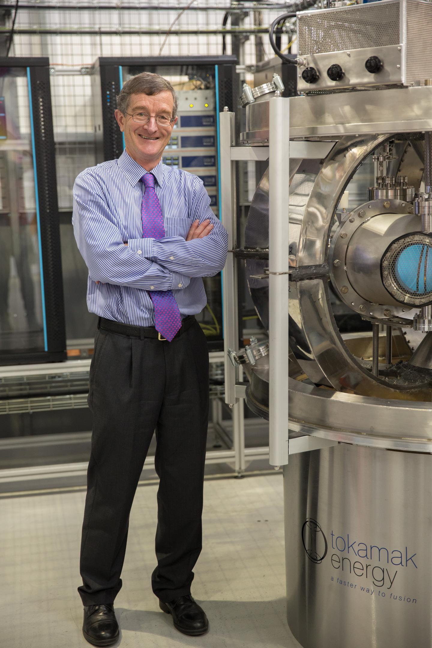 Dr David Kingham, CEO of Tokamak Energy