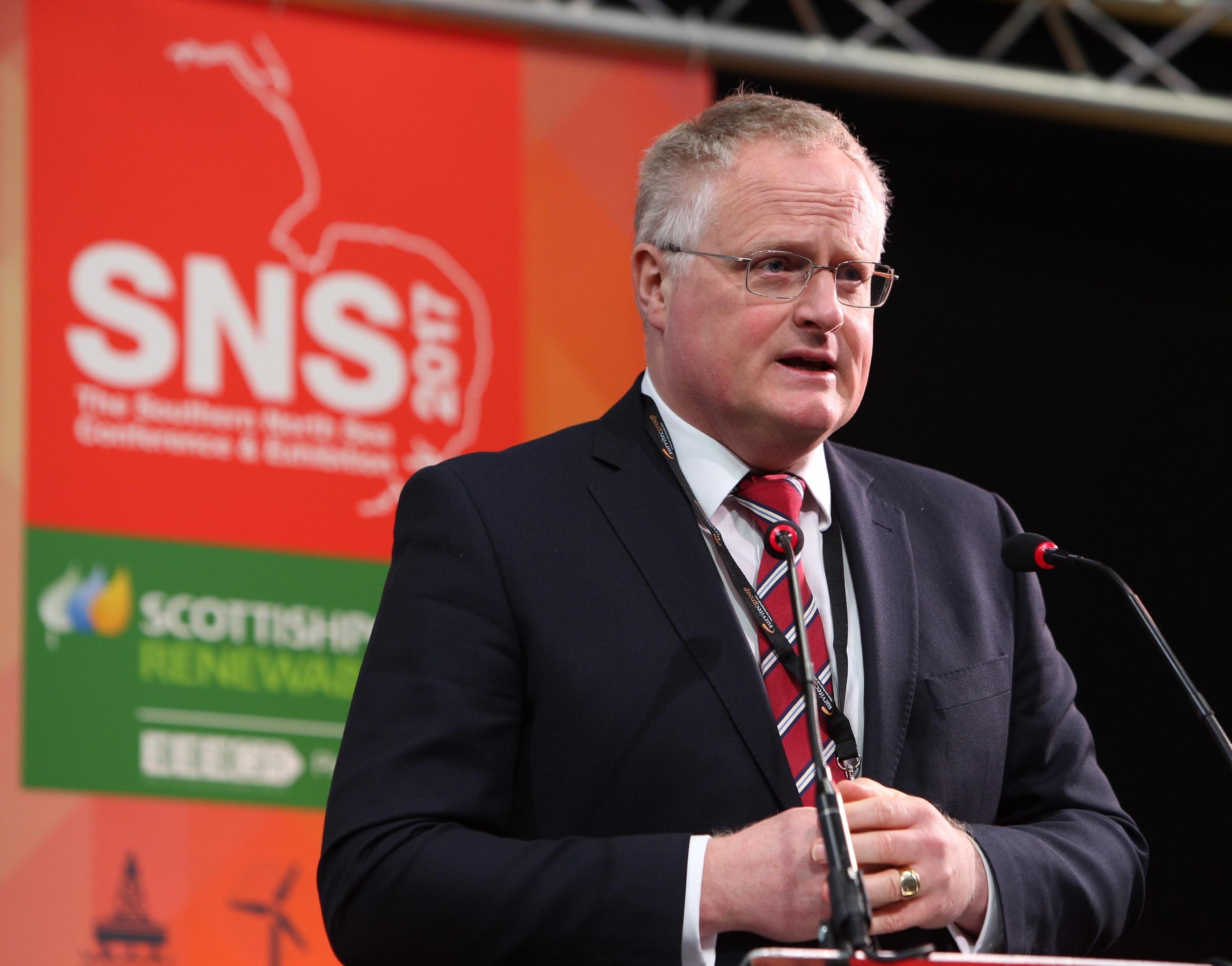 Stuart Wheaton, UK business unit head at Premier Oil. Photo credit: TMS Media.